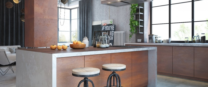 Industrial Styled Kitchens