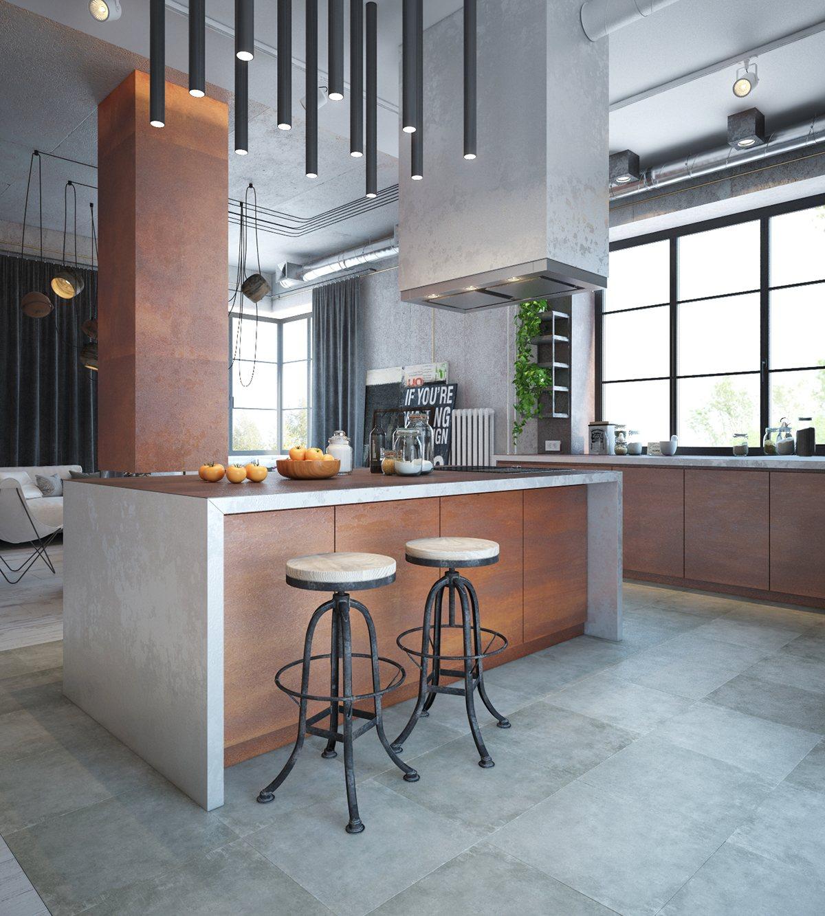 Industrial Styled Kitchens - Custom Homes Builders Geelong ...